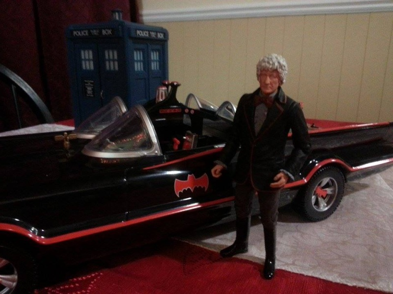 3rd Doctor and Batmobile 10877610