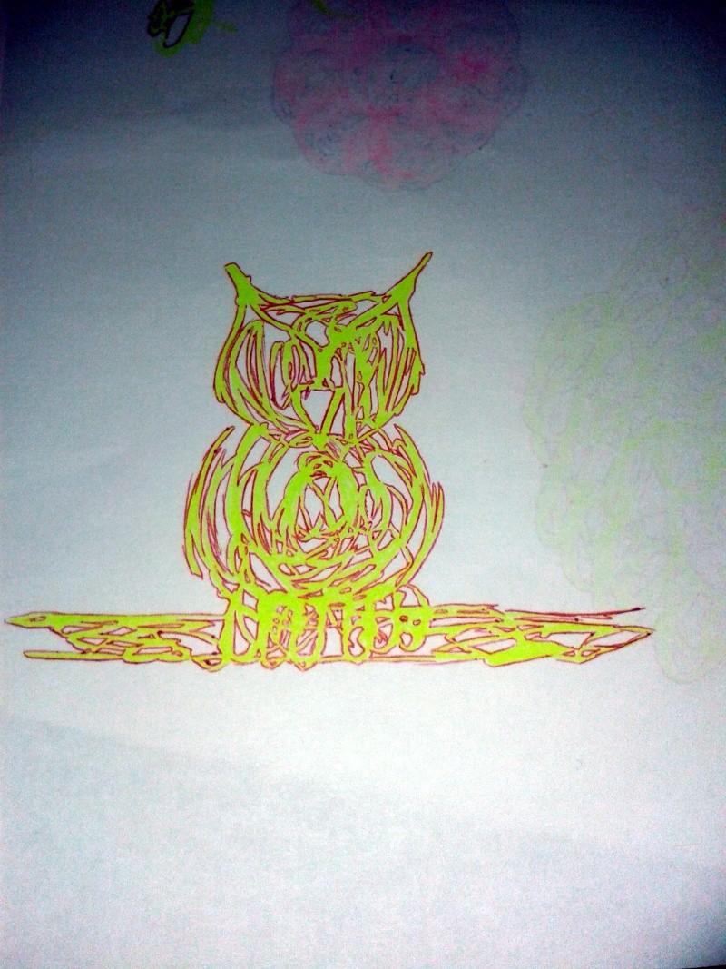 Dessins d'une 'tite violette - Page 4 Hibou10
