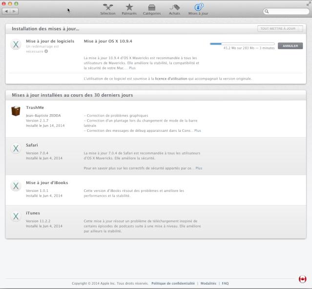 OS X 10.9.4 109410