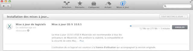 OS X Mavericks 10.9.5  819