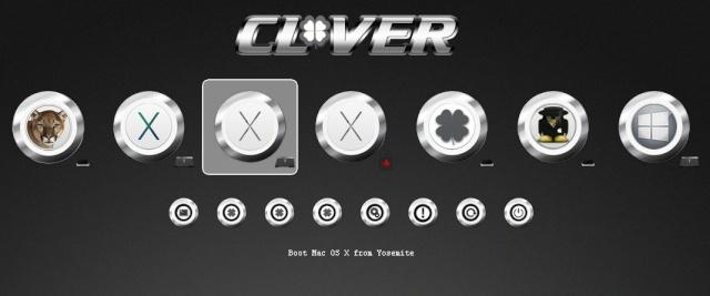Nouveau Themes Clover CHROME Screen32