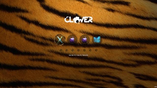Nouveau thème clover TIGER Screen33