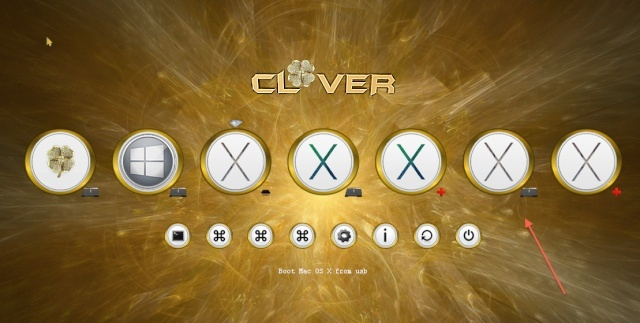 Theme Gold_clover Screen35