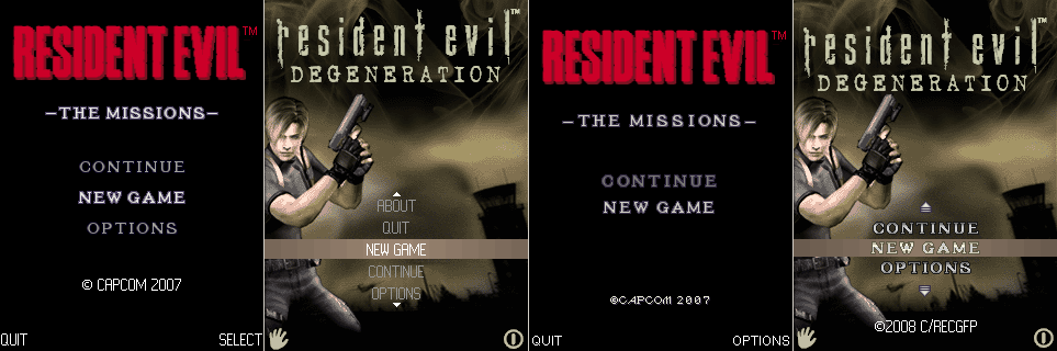 Resident Evil Mobile Games 0its10