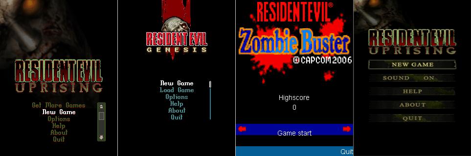 Resident Evil Mobile Games H3qw10