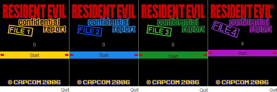 Resident Evil Mobile Games Nzk710