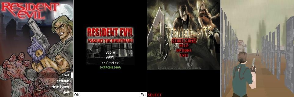 Resident Evil Mobile Games Zsgz10