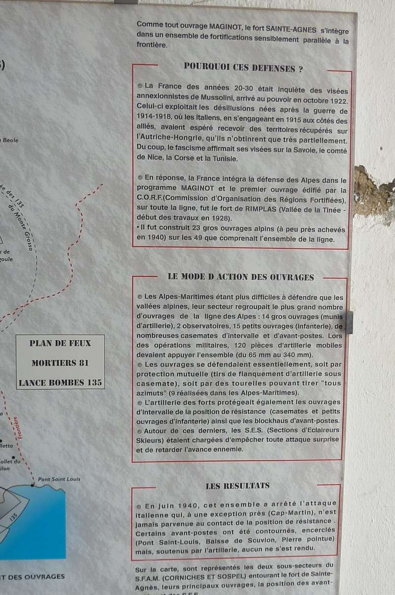 MAGINOT - Fort de Ste Agnés (06)  P1110519