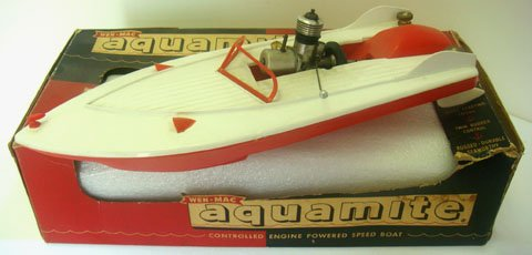 The Aquamite hits the water....... Google12