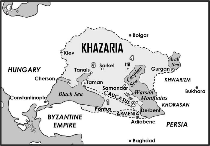 LC Koestler - La 13ème tribu - Page 2 Khazar10