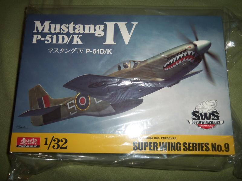KIT REVIEW: P-51D /K /Mustang IV de Zoukei-Mura au 1/32 01011