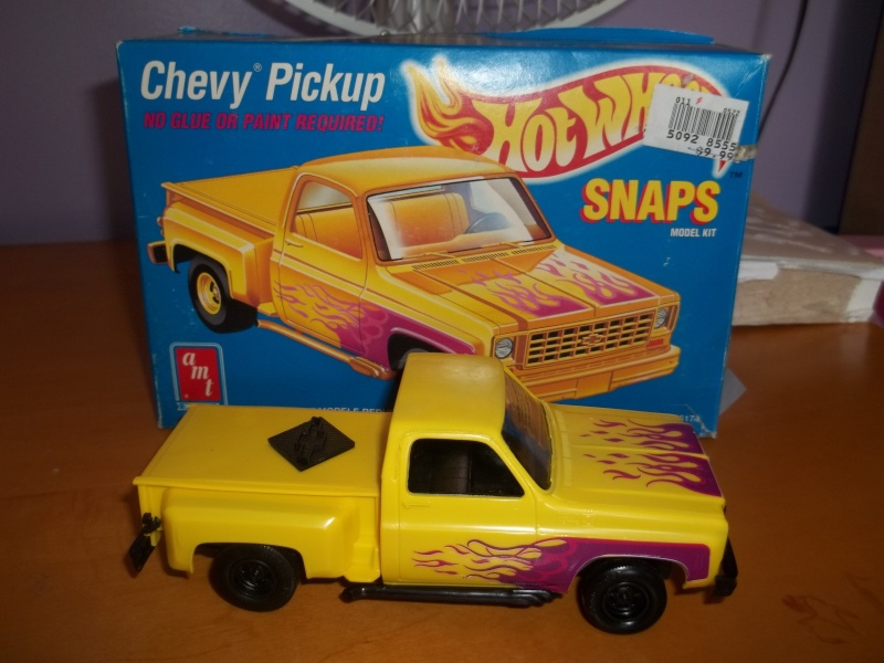 """AMT Chevy Pickup """"Snap-Tite"""" 1/32 01711"""