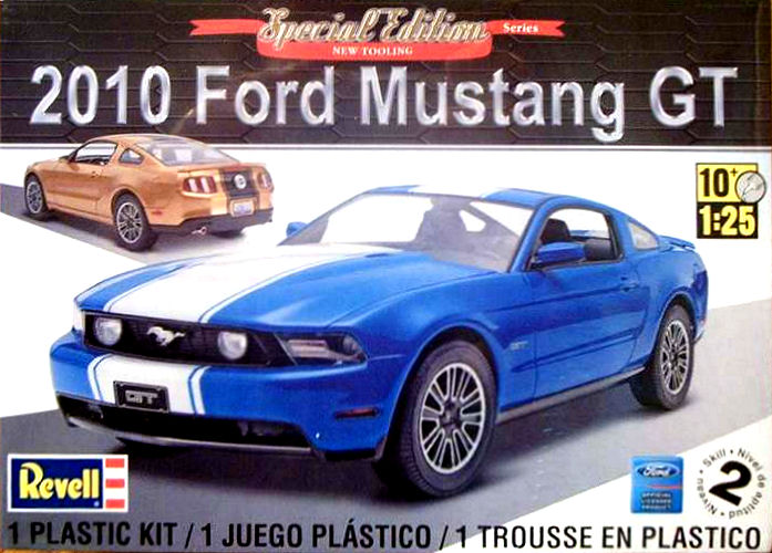 2012 Mustang Boss 302 (conversion) de Revell Box_ar10