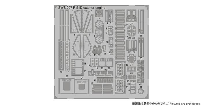 KIT REVIEW: P-51D /K /Mustang IV de Zoukei-Mura au 1/32 Mustan22