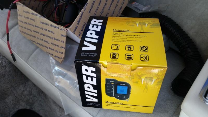 Installing a car alarm (viper 5706v) 20140912