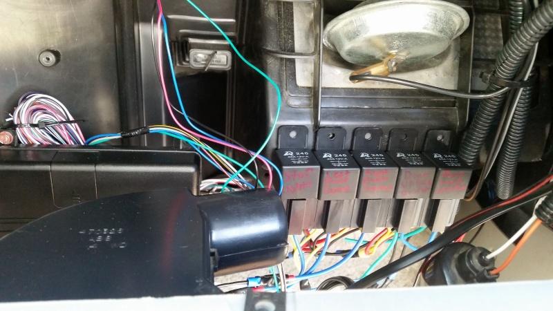 Installing a car alarm (viper 5706v) Relays10
