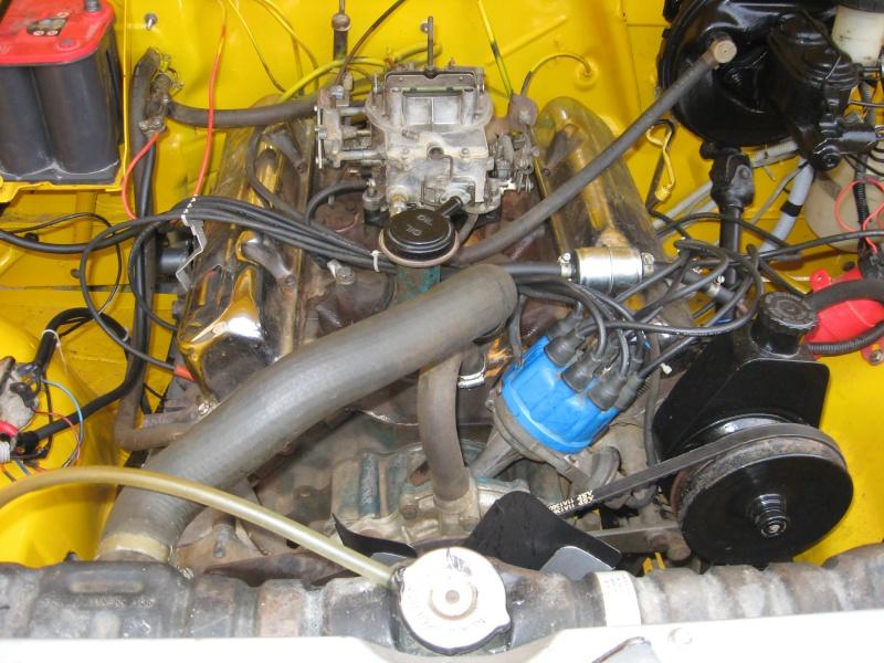 Compartiment moteur cj7 Jeep_c10