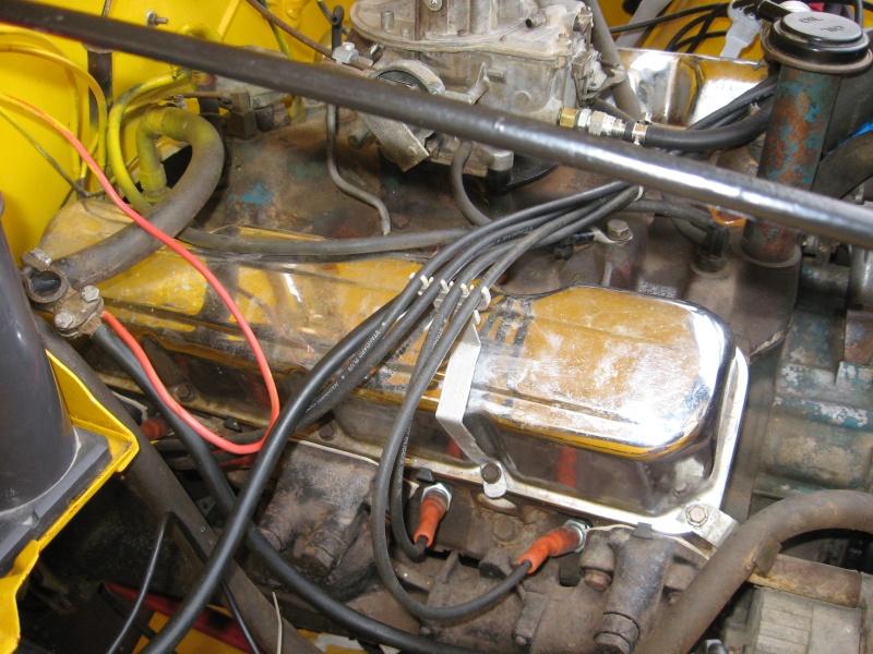 Compartiment moteur cj7 Jeep_c11