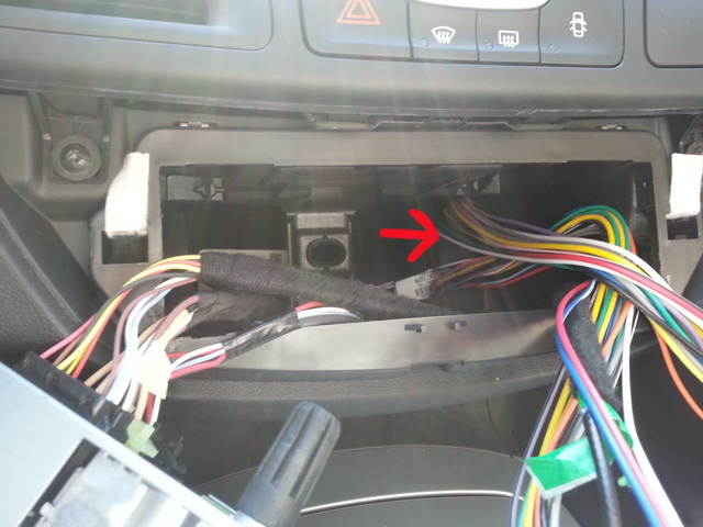 [Tuto] Montage ampli Alpine KTP-445A sur autoradio d'origine 20140920
