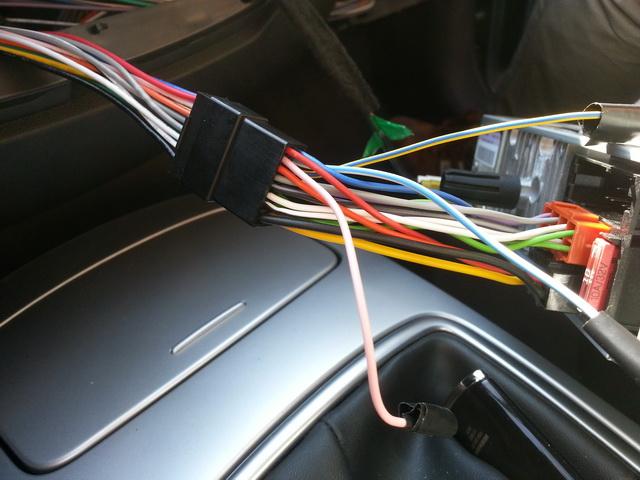 [Tuto] Montage ampli Alpine KTP-445A sur autoradio d'origine 20140922