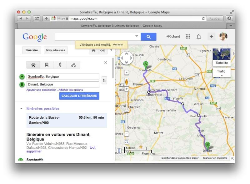 [TUTO] Créer un itinéraire avec Google Map et le convertir en GPX Screen11