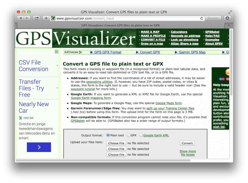 [TUTO] Créer un itinéraire avec Google Map et le convertir en GPX Screen14