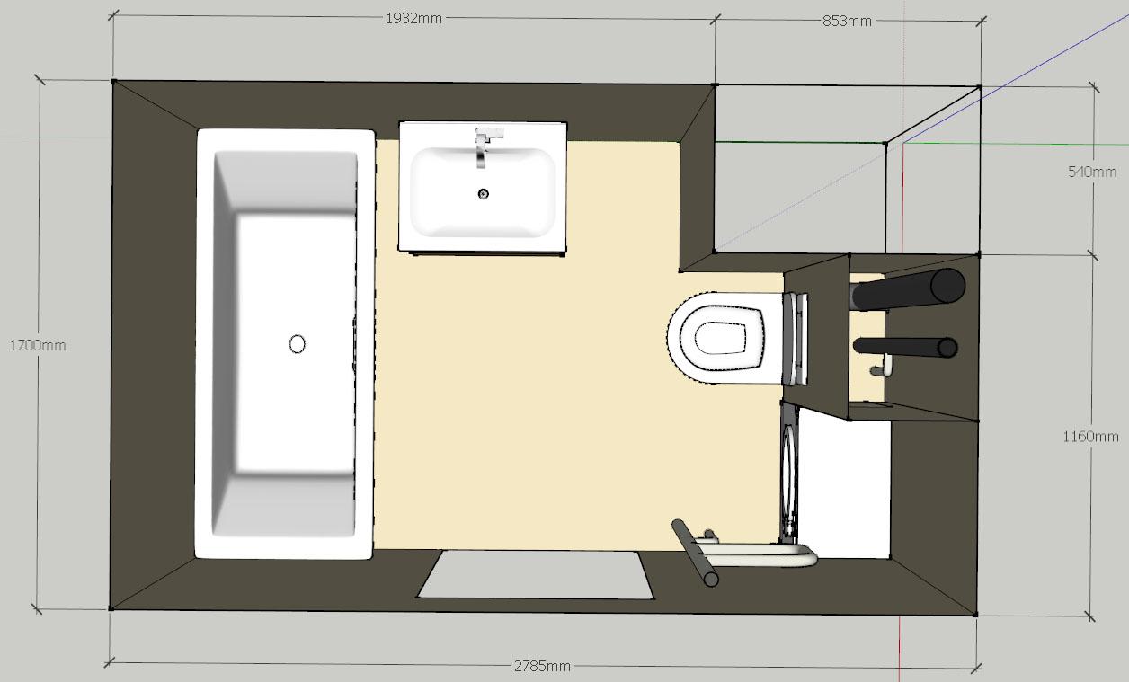 Санузлы (ванные комнаты и туалеты) Ozze10
