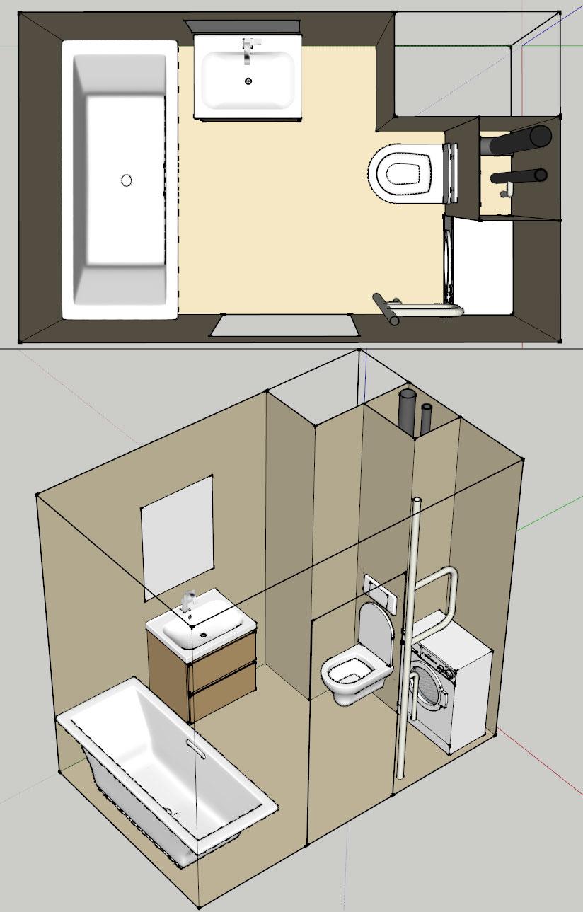 Санузлы (ванные комнаты и туалеты) Yzde10