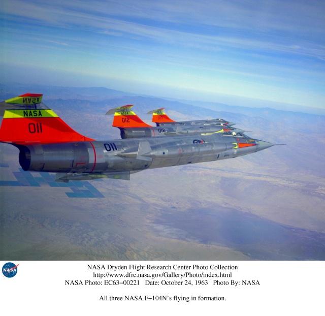 DUO: F-104N (NASA) + F-104G (BAF) Hazegawa 1/48  79196d10