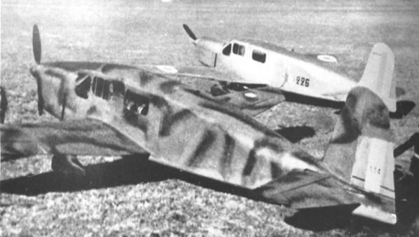 """Caudron C-635 Simoun """" raid Paris-Tokyo """" ( kit heller 1/72 ) Photo_10"""