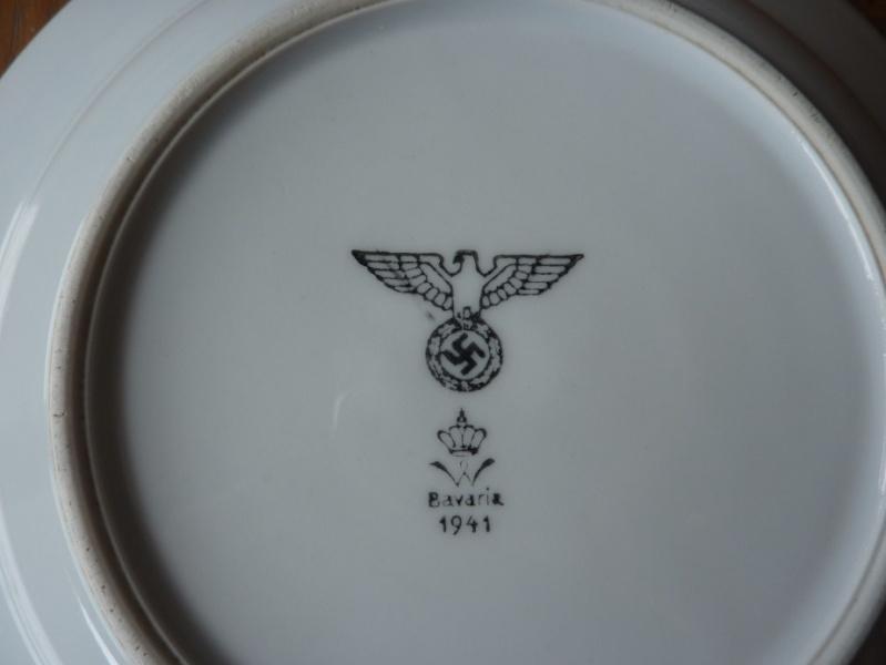 Heer, Luftwaffe & RAD - Assiettes, tasse et pichet à lait P1150213