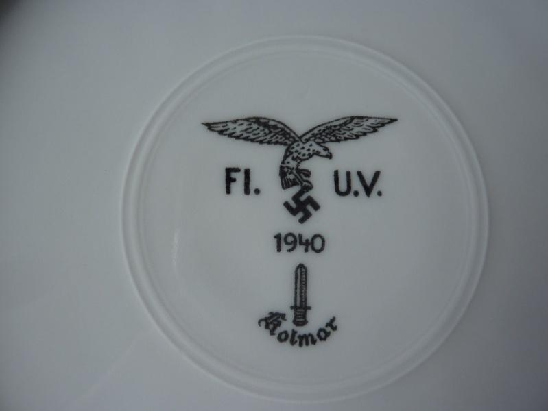 Heer, Luftwaffe & RAD - Assiettes, tasse et pichet à lait P1150215