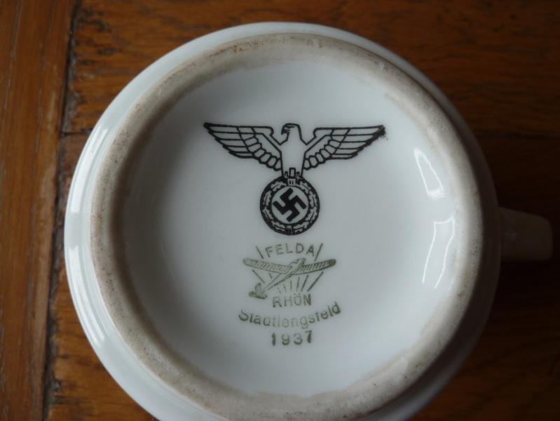 Heer, Luftwaffe & RAD - Assiettes, tasse et pichet à lait P1150217