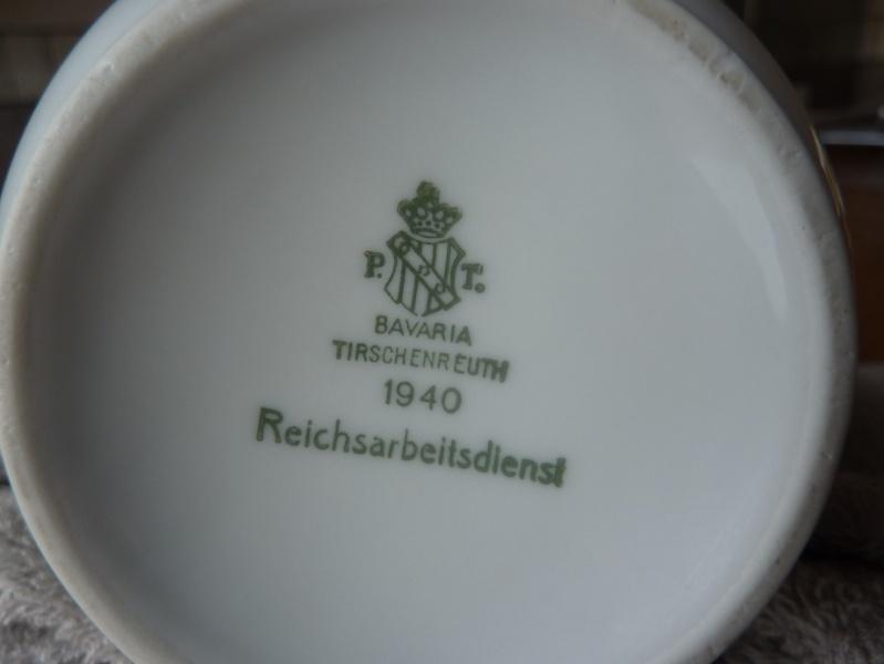Heer, Luftwaffe & RAD - Assiettes, tasse et pichet à lait P1150220