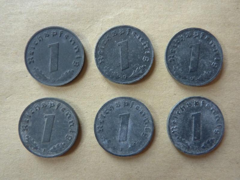 Détail de lot de monnaies P1180533