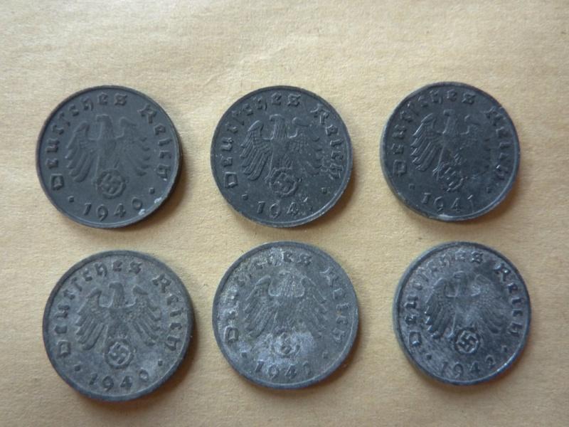 Détail de lot de monnaies P1180534