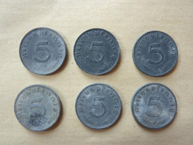 Détail de lot de monnaies P1180535