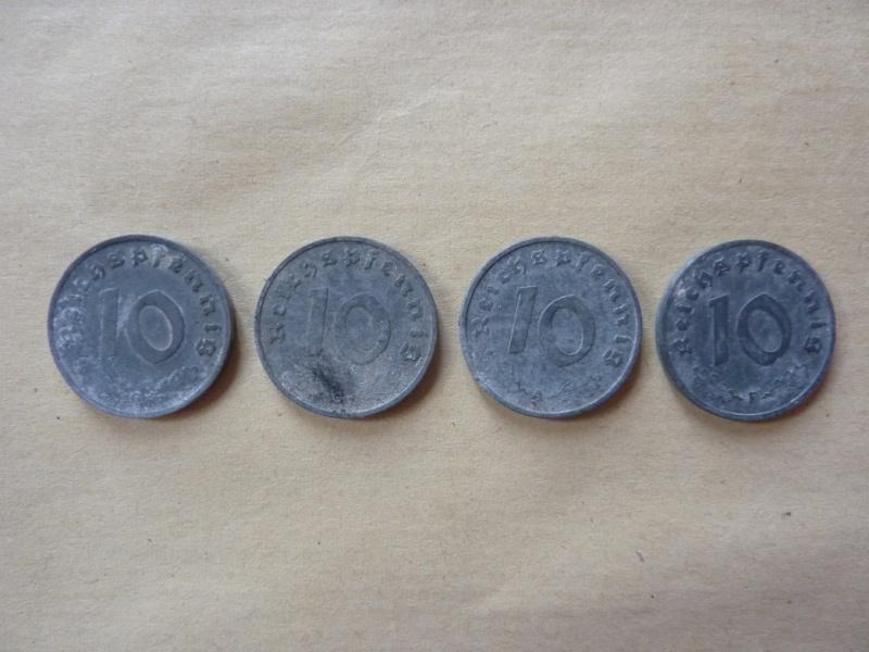 Détail de lot de monnaies P1180537
