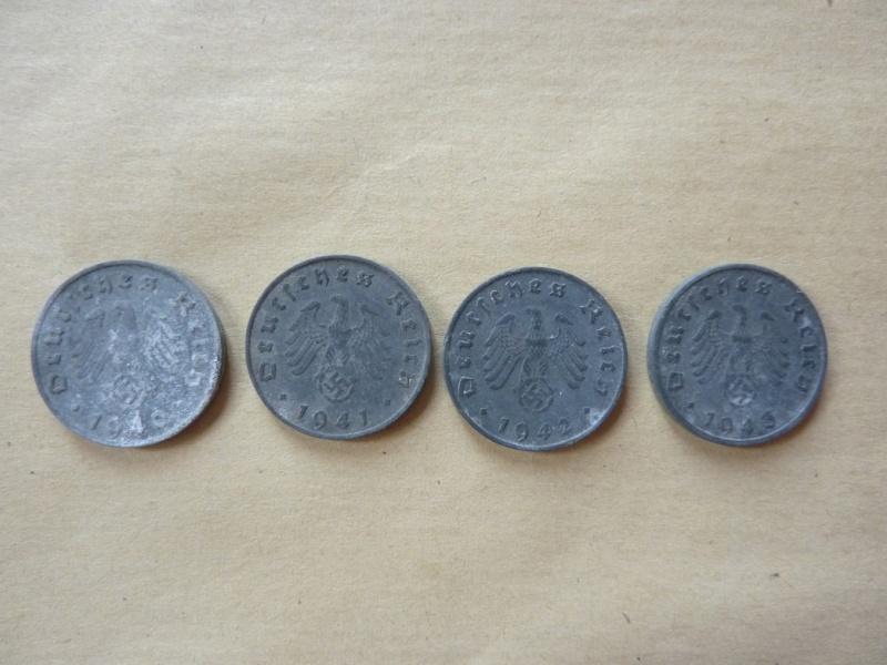 Détail de lot de monnaies P1180538