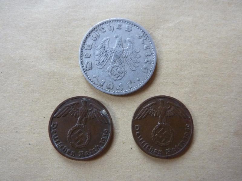 Détail de lot de monnaies P1180539