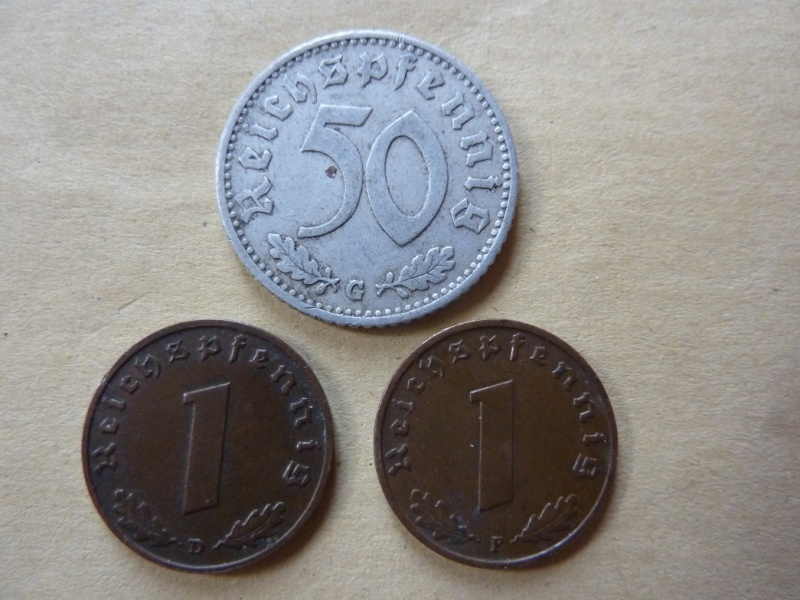 Détail de lot de monnaies P1180540