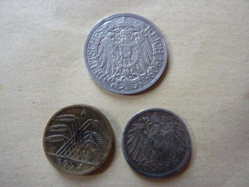Détail de lot de monnaies P1180542