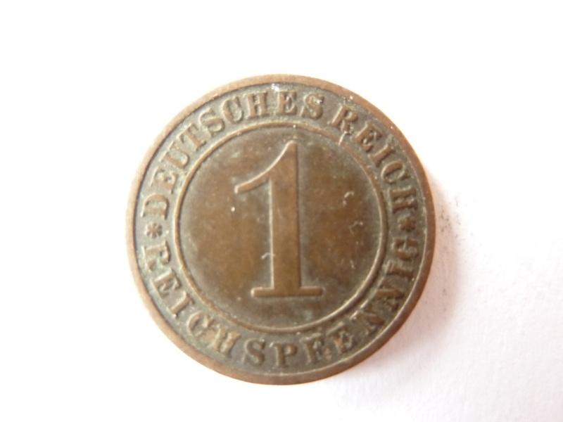 Pièce de 1 Rpfg de 1925 et 1935 : P1180722