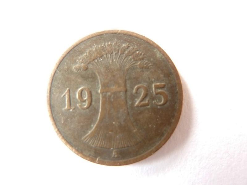 Pièce de 1 Rpfg de 1925 et 1935 : P1180723