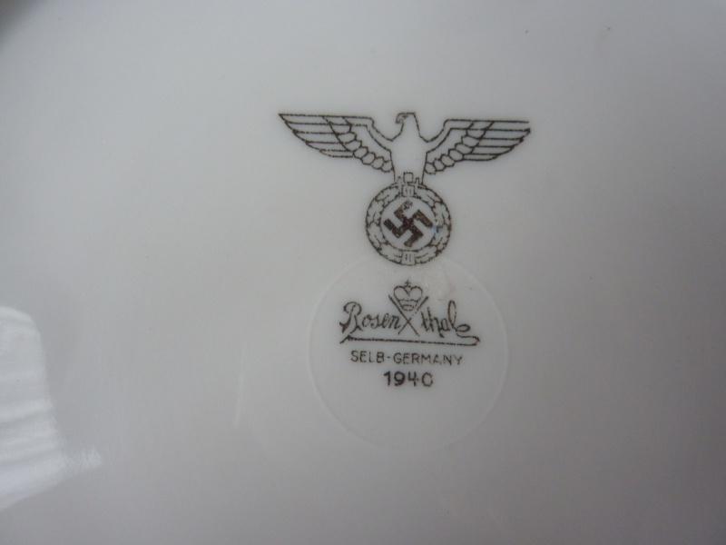 Rosen Thale - Assiette plate 1940 P1190315