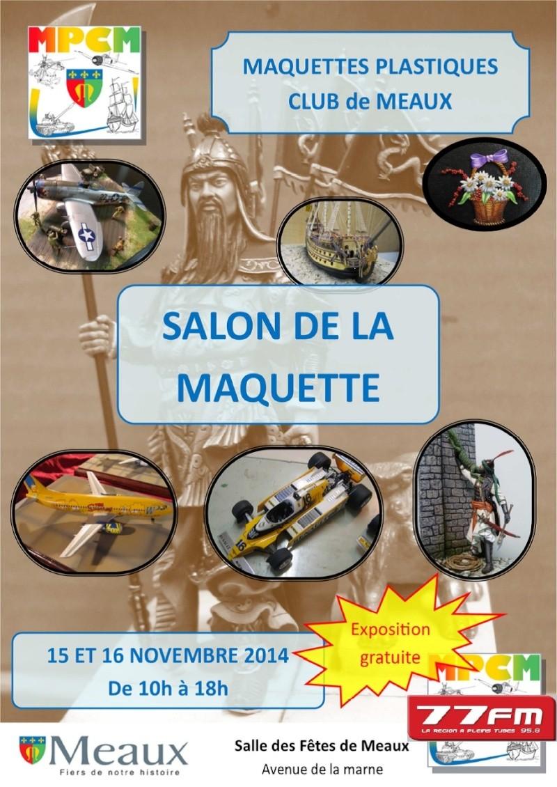 Salon de la maquette - Maquettes Plastiques Club de Meaux (77) - 15 et 16 novembre 2014 Affich10