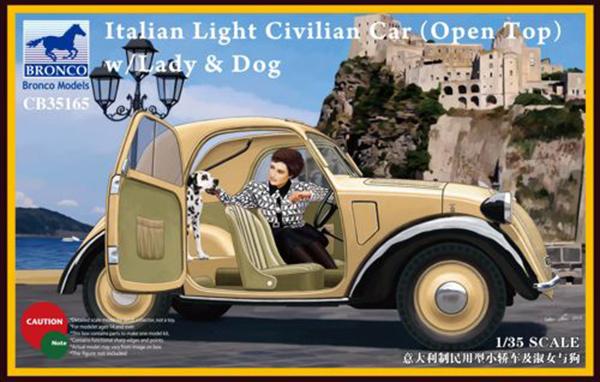 """FIAT 500-A """"Topolino"""" - BRONCO 35165 - 1/35 Bronco10"""