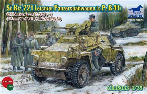 BRONCO CB 35033 - Sd.Kfz.221 - 1/35 Bronco12