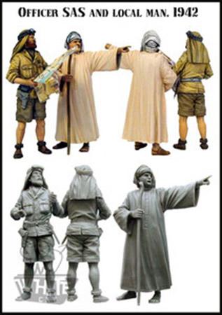 SAS - Pause-thé avec les Touaregs - Conversion jeep ITALERI + figurines NEMROD, EVOLUTION, RESICAST - 1/35 Evolut10
