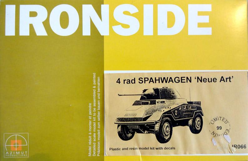 """4 Rad Spähwagen neue Art"" - IRONSIDE IR066 - Plastique + résine - 1/35 Ironsi10"